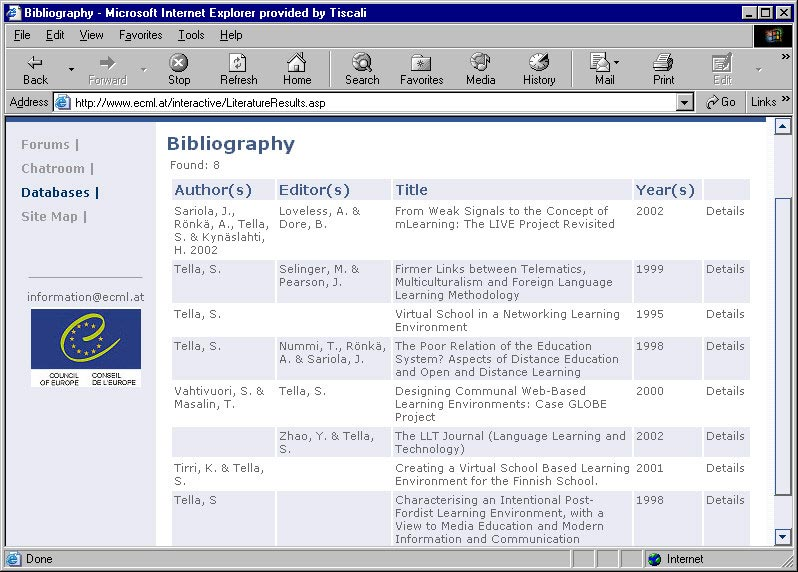 how to start a bibliography